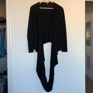J Jill Cardigan Scarf Sweater Career Casual